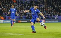 Okazaki leads Leicester into last 16