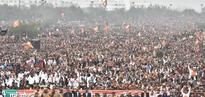 Prime Minister Modi addresses Parivartan Rally at Lucknow, Uttar Pradesh