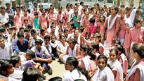 After Rewari, girls of Gurugram and Palwal demand school upgradation