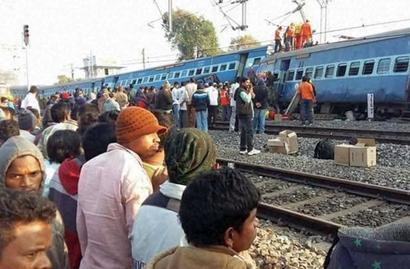 Hirakhand derailment: NIA team probes terror angle