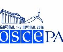 OSCE parliamentary assembly session to open in Tbilisi