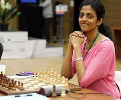 FIDE Women's Grand Prix: Harika fights for a draw, moves up to joint 8th
