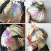 Makeover: Pastel Rainbow Shadow Roots
