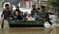 NDRF in Rescue and Relief Work in Flood Affected Northern States of India