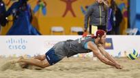 Canadian men's beach volleyball team wins FIVB silver