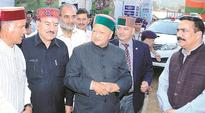 Congress driving HP into debt trap: Ex-CM Prem Kumar Dhumal