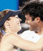 Indians have a field day in New York as Paes, Mirza, Bopanna advance