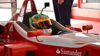 Parth Ghorpade first Indian driver on Fiorano track courtesy Ferrari Driving Academy