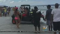 Two teenagers bitten by sharks in South Florida warnings issued to beach goers