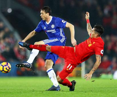 EPL PHOTOS: Chelsea held by Liverpool, Arsenal stunned by Watford