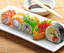 Sushi is fast becoming the favourite food of Indians