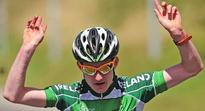 Eddie Dunbar delighted at ninth place in world championship time-trial