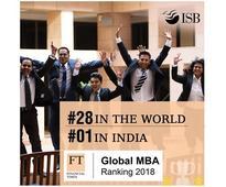 ISB beats IIMs, top-ranked Indian B-school on Financial Times MBA Rankings
