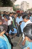 Boy falls in drainage pipe; search ops on