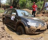 Mitsubishi Pajero Sport proves its mettle at Heart in Mouth event