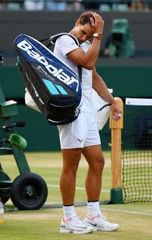 Nadal's early exits at Wimbledon
