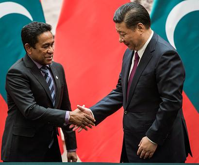 Will India clash with China over the Maldives?