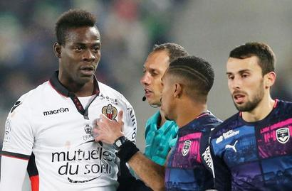 Nice striker Balotelli banned for two matches
