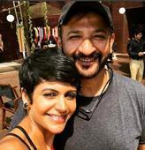 Mandira shot her last shoot of the year with husband Raj Kaushal!