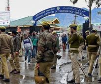 NIT Srinagar Unrest:Jammu Bandh on Thursday,Centre assures safety of students