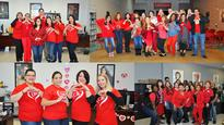 Farouk Family Wears Red to Help Save Lives