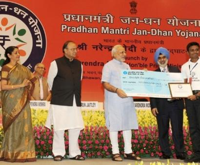 More takers for Modi's Jan Dhan in Uttar Pradesh & West Bengal