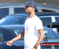 Former Chelsea defender Ashley Cole pictured smoking in California as he continues LA Galaxy stint