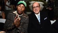 Pharrell Williams Honored by Clive Davis at City of Hope Benefit