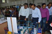 Union Minister Dr. Harsh Vardhan visited IMMT, Bhubaneswar today