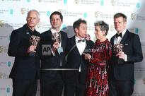 `Three Billboards' tops Baftas as Times Up campaign shares stage