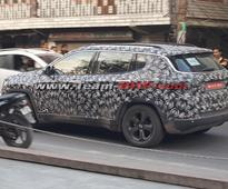 Upcoming Jeep Compass spied testing once again