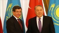 Turkey, Kazakhstan to be central in Eurasia: Davutoglu