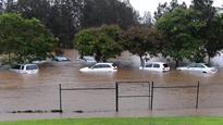 Cyclone Debbie: Torrential rain, floods hamper relief work