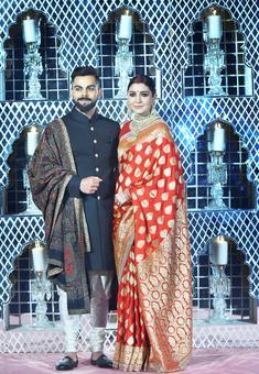 The story behind Anushka's bridal sari