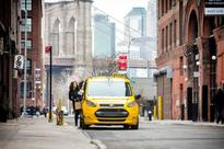 Ford Transit Connect Hybrid taxi prototype to...