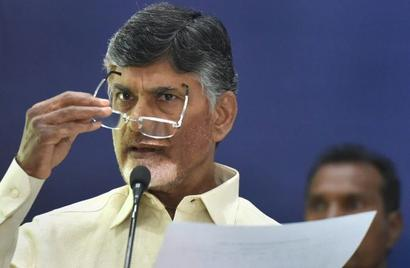 Centre harassing my government, says Naidu