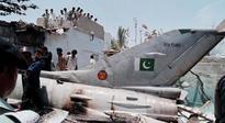Pak Air Force Mirage jet crash kills pilot in Karachi