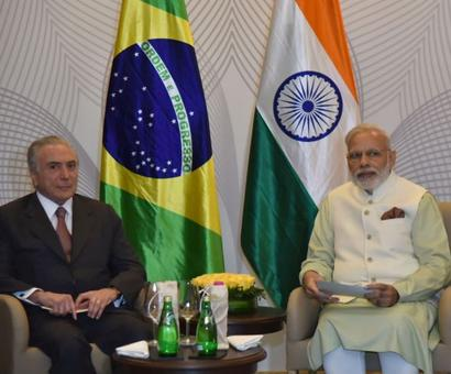 India lauds Brazil's support for actions to combat terror: Modi