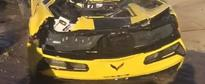 2016 Corvette ZO6 C7.R Gets Wrecked in Texas, Looks Like It Met a Shredder