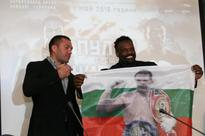 Pulev, Chisora Hold Conference in Sofia Prior to May Encounter