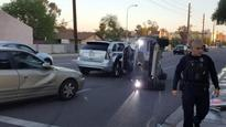 Uber has suspended its self-driving car test program after a crash in Arizona
