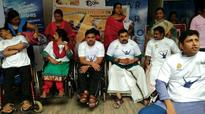 Physically-challenged get a special view of Dileep film
