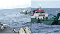 Indian Navy traces missing Maldivian landing craft