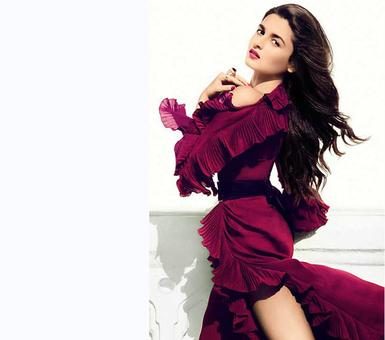 Why Alia is overwhelmed these days?