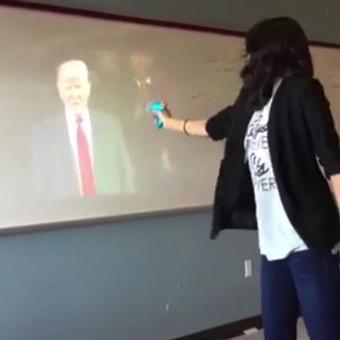 Indian-origin teacher suspended for mock Trump 'assassination'