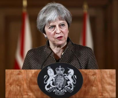 Syria air strikes morally and legally right: Theresa May