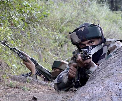 Heavy Pak shelling on Indian posts along LoC