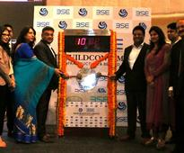 Dilip Buildcon gains 15% on debut