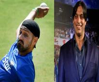 Once fierce rivals, Harbhajan Singh-Shoaib Akhtar now turn judges for a TV show