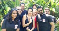 Fface goes international for calendar shoot with Bollywood actres...